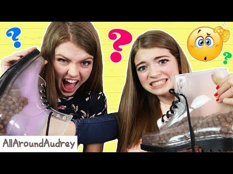 WHAT'S IN MY BOOT CHALLENGE! / AllAroundAudrey