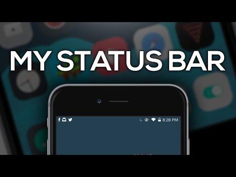 CYDIA Tweaks For Your Statusbar iOS 10.1.1 - 10.2