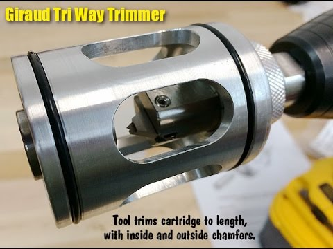 Prepping 223 Brass Dillon 550b Giraud Trimmer Lyman Xpress Case