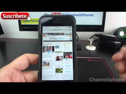 Cómo Guardar Páginas Web como PDF en iPhone - Trucos iOS 9