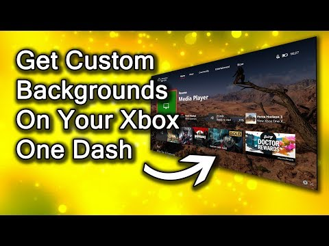 How to Get Xbox One Custom Backgrounds On Dashboard (via USB, Screeshot or Achievement Art)