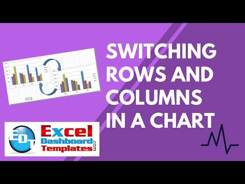 Switching Rows and Columns in an Excel Chart