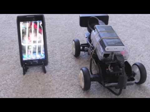Android RC Car with Live Video Camera Streaming