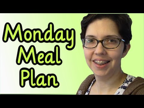 Meal Plan Monday #12 (March 19, 2018)