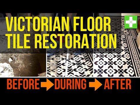Victorian Floor Tile Restoration - Tile Doctor Victorian Floor Restoration in North London