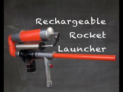 Rechargeable PVC Paper Rocket Launcher
