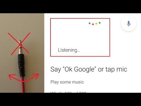 [FIXED] BAD EARPHONE PLUG opens Google Now voice command  - headphone jack