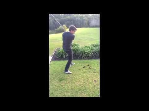 Hammond bats backwards at golf.