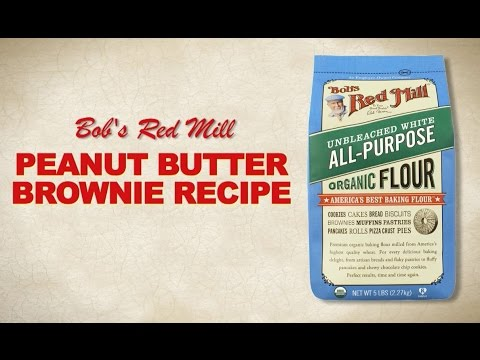 All-Purpose Flour | Peanut Butter Brownie Recipe | Bob's Red Mill