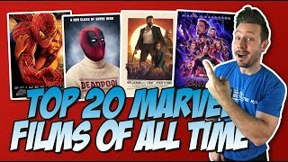 Download All 58 Marvel Movies Ranked Part 3 (Top 20 Marvel Movies) Video