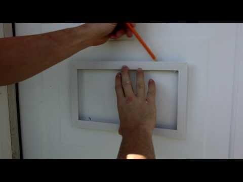 How To Install Garage Door Vents