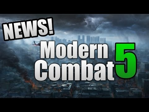 Modern Combat 5: Blackout - NEWS! (Singleplayer, Locations, & More!)