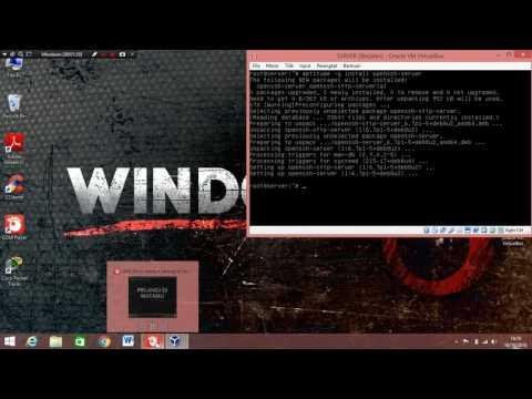 Install SSH Server on Debian 8.5