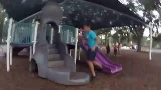 parkour at the park