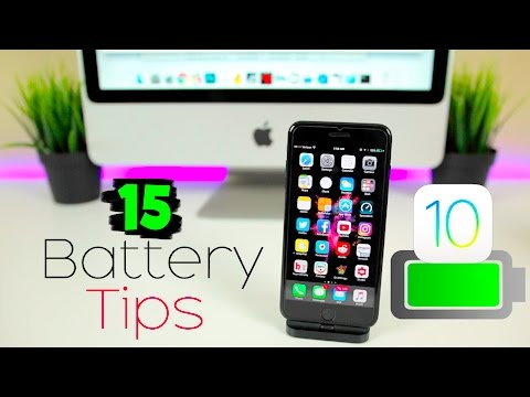 15 BEST Tips to Improve iPhone Battery Life on iOS 10 - 10.3.3! | iPhone 7 Battery Saving Tips 2017
