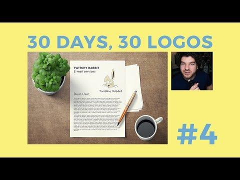 30 Days, 30 Logos #4 - Twitchy Rabbit