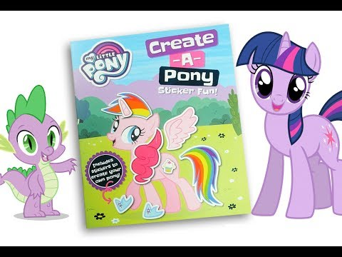 My little pony Activity book MLP Create a pony