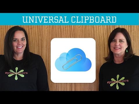 Mac Sierra Universal Clipboard