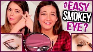Easy Smokey Eye Tricks ft. Slanted Hashtag - Makeup Mythbusters w/ Maybaby & Jill Cimorelli