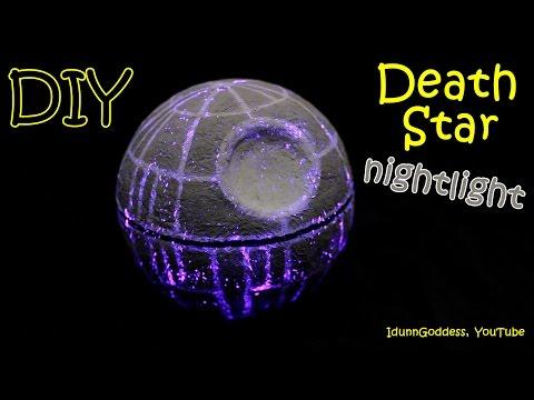 How To Make a Death Star Nightlight – DIY Star Wars Death Star Night Light Tutorial
