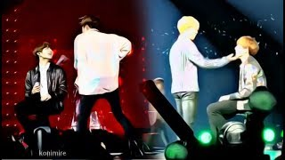 """How BTS hyung give """"big love"""" for Jungkook (전정국) after leg injury #3"""