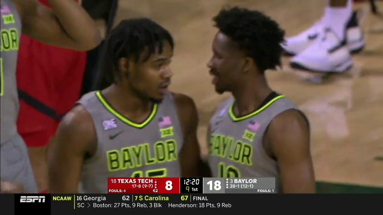 Baylor vs Texas Tech   2021.3.7   NCAAB Game