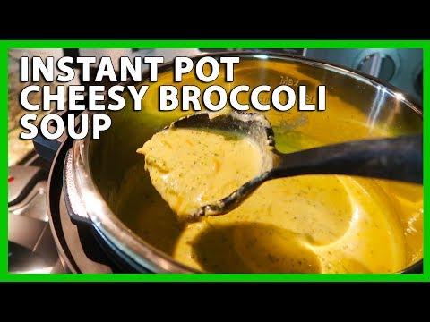 INSTANT POT CHEESY BROCCOLI SOUP (7/17/17)