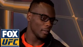 Ovince Saint Preux with Megan Olivi after weigh-in in Japan   Interview   UFC FIGHT NIGHT