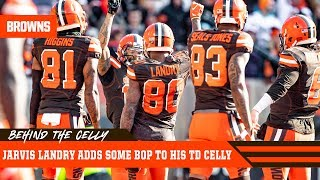 Jarvis Landry Breaks Down His BOP TD Celebration | Cleveland Browns