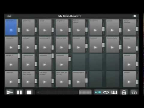 Soundboard for Mac & the iPad