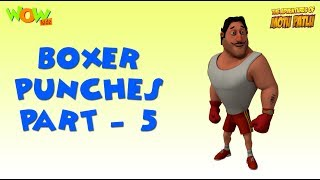 Boxer Punches - Motu Patlu Compilation - Part 5 As seen on Nickelodeon