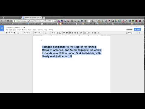 Changing Default Font and Size in Google Docs.webm