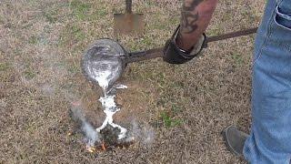Triple Fire Ant Aluminum Casting