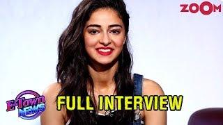 Ananya Panday on stalking Kartik Aaryan | Karan Johar