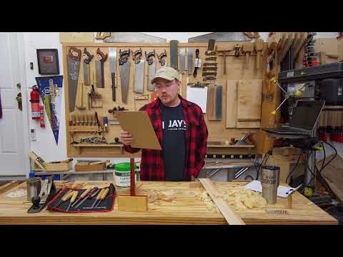 Vlog #127: Types of mallets, Shellac, Coffee Table, Merry Christmas