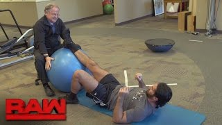 Seth Rollins grants an inside look at his rehabilitation: Raw, March 6, 2017