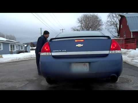 2006 Chevy Impala LTZ Exhaust Notes