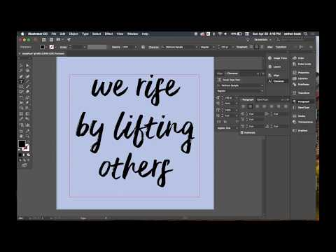 How to Make a Text Instagram Post on Illustrator