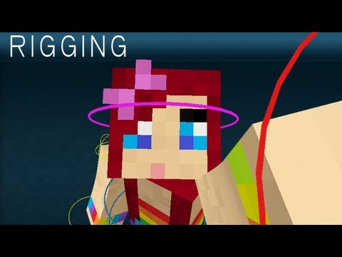 Minecraft Character Rigging Body Tutorial in Maya