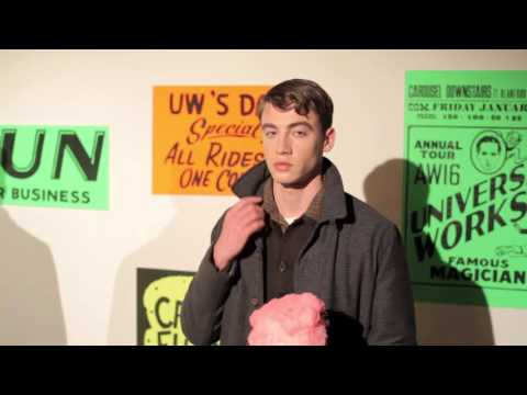 Universal Works does Nottingham Goose Fair: London Collections Men Presentation AW16