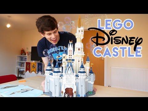 Lego Disney Castle   Tom Burns