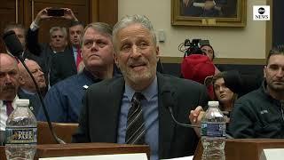 Jon Stewart slams Congress over benefits for 9/11 first responders