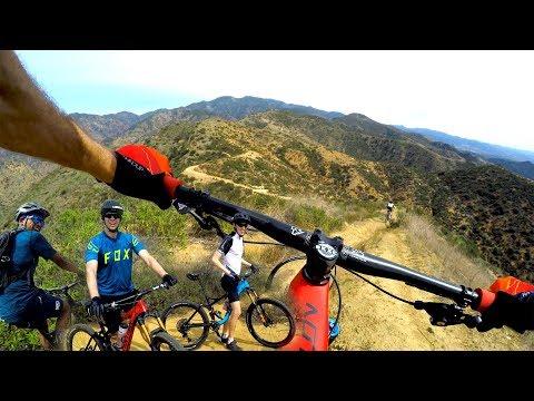GETTING LOOSE ON THE LUGE | Mountain Biking in Southern California