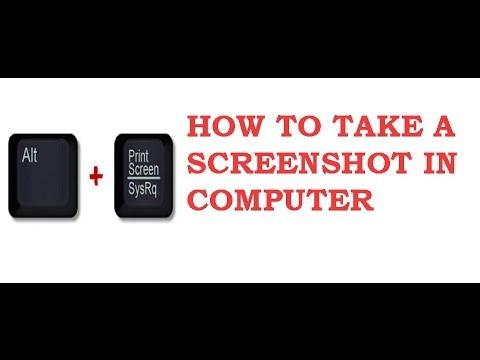 how to take screenshots on windows 7 (in hindi)