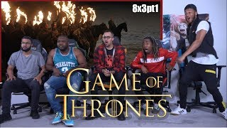 """Game of Thrones 8x3 """"The Long Night"""" GROUP REACTION/REVIEW PART 1"""
