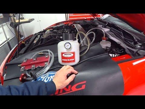 Mustang Brembo Brake Bleeding | Auto Fanatic