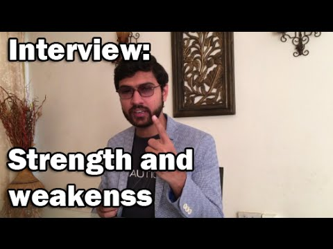Interview Question series: Strength and weakness in URDU/HINDI