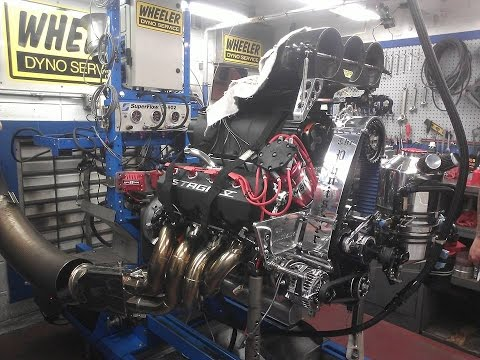 Dyno Teaser of the 2500hp STREET engine