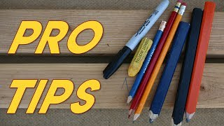 Marking and Cutting Pro Tips
