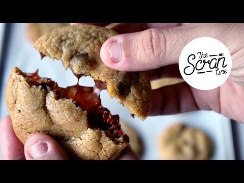 NUTELLA STUFFED CHOCOLATE CHIP COOKIES - The Scran Line